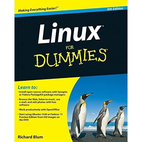 Linux For Dummies, 9th Edition by Richard Blum (2009-08-10)