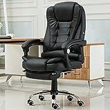 Canyi Z Computer Stuhl Home Bürostuhl Liegende vierbeinigen Stuhl Kunstleder Massagestuhl PU Leder mit Fußbogen Stuhl Multi-Color Optional (Farbe : 5)