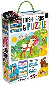 Lisciani Giochi Baby Puzzle y Flash Cards la Factoria,, 72699