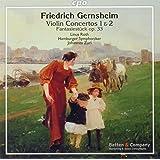 Gernsheim:Violin Concertos [Linus Roth, Hamburger Symphoniker , Johannes Zurl] [CPO: 777861-2]