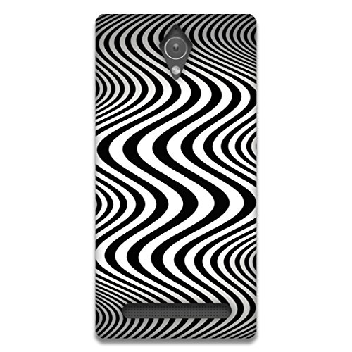 The Racoon Lean printed designer hard back mobile phone case cover for Asus Zenfone C. (Zebra)  available at amazon for Rs.99