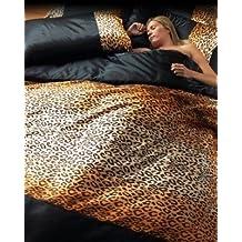 Suchergebnis Auf Amazonde Für Satin Bettwäsche Leopard