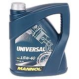 MANNOL Universal 15W-40 API SG/CD Motorenöl, 4 Liter