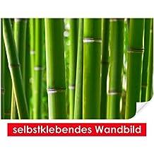 adhesivo pared de bamboo forest u fciles de pegar u wall print wall paper pster pantalla con pegamento de puntos de vinilo para paredes puertas