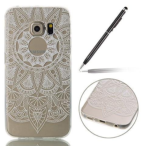 Samsung Galaxy S6 Edge Case,Samsung Galaxy S6 Edge Case Floral,Felfy