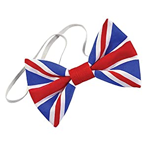 Bristol Novelty BA2890 - Union Jack Bow Tie. Cloth (accesorio de disfraz)