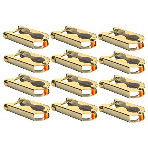 Befestigung Stange (awm® Trampolin 12x Befestigungsklammern Stangen Befestigung Netz - Stangen Klemmen)