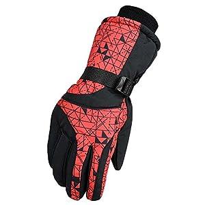 Unbekannt XIAOYAN Handschuhe Handschuhe Sporthandschuhe warm halten/Antirutsch/Wasserdicht/Winddicht Vollfinger Bequem