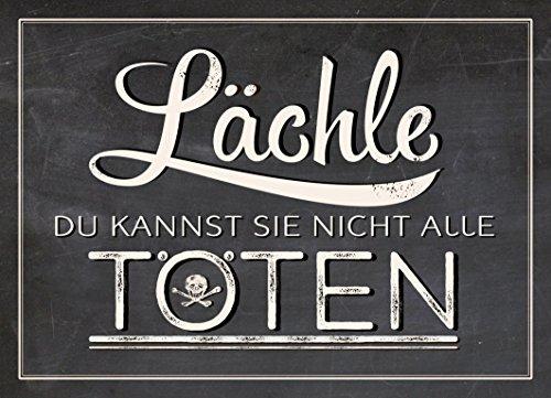 grafik-werkstatt-60395-vintageart-lachle-du-kannst-sie-nicht-alle-toten-magnet-metall-uni-9-x-65-x-c