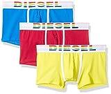 Diesel Herren Boxershorts UMBX-DAMIENTHREEPACK, 3er Pack, Mehrfarbig (Red/Blue/Yellow E3956), X-Large