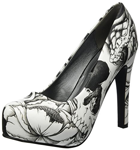 Iron Fist Damen Original Sin Platform Pumps Weiß (White)