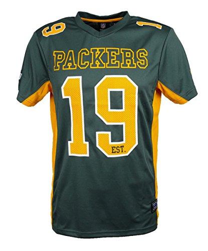 football trikot damen Majestic Green Bay Packers Moro Est. 21 Mesh Jersey NFL T-Shirt L