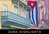 Cuba Highlights (Wandkalender 2018 DIN A3 quer): Eine Fotoreise durch die größte Insel der Karibik (Monatskalender, 14 Seiten ) (CALVENDO Orte) [Kalender] [Apr 01, 2017] Ristl, Martin