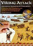 Viking Attack - scena di assalto con trasferelli da strofinare
