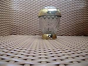 roovs solithia solarleuchte goldfarbend im kristall. Black Bedroom Furniture Sets. Home Design Ideas