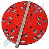 6KG ROLLE Auswuchtgewichte Klebegewichte Stahlgewichte 1200x5g 12x5g Kleberiegel mit ABRISSKANTE