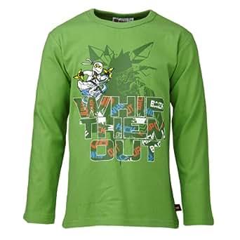 Lego wear - ninjago - t-shirt - garçon - vert (forest green) - 6 ans