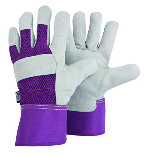 Briers Ladies Rigger, Lavender, Medium