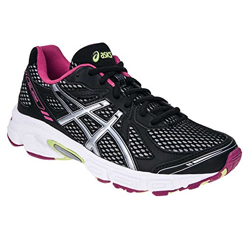 ASICS JUNIOR Gel Ikaia 4 GS – Noir/Argenté/Rose GREY/PINK/LIME