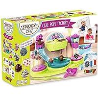 Smoby - 312103 - Chef Cake Pops Factory - Nombreuses Fonctions - 5 Fiches Recettes Incluses