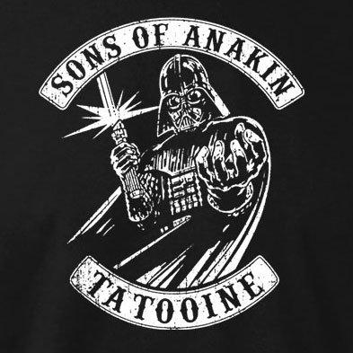 TEXLAB - Sons of Anakin - Herren T-Shirt Flaschengrün