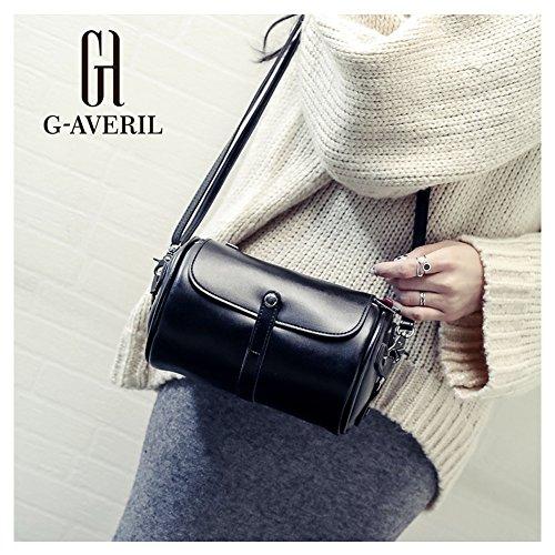 G-AVERIL, Borsa a spalla donna nero Black Black