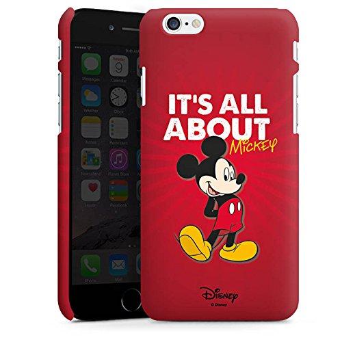 Apple iPhone X Silikon Hülle Case Schutzhülle Disney Mickey Mouse Merchandise Geschenke Premium Case matt