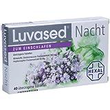 Luvased Nacht zum Einschlafen Tabletten, 40 St.