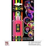 Lively Moments neonpinkes crème Make - UP en Flacon Distributeur / Style des années 80 années neonschminke / Maquillage de Carnaval