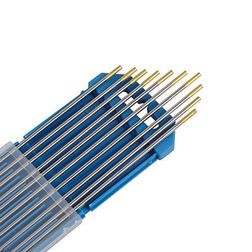 SPEED Wolfram Elektroede Nadel WL-15 Ø2,4 x 175 mm WIG Schweißen WL-15 Gold Ø2,4 x 175 mm 10pk (10k Inverter)