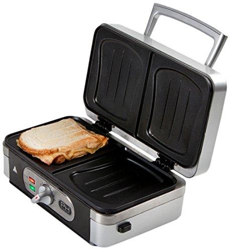 Domo Sandwichera Multifunción 3 En 1 DO9055C