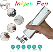 Intelligent Mini color Printing pen, One touch printer Portable DIY tattoo machine WIFI connection Android&