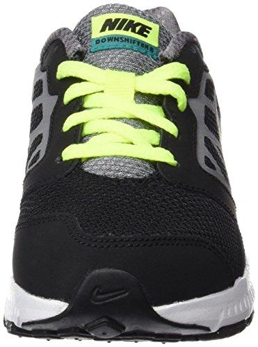 Nike Downshifter 6 (Gs/Ps), Scarpe da Corsa Bambino Nero (Black (nero / verde acqua grigio-rio volt-cool))