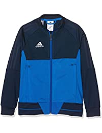 Adidas Tiro17 PES Y Chaqueta, niños, Azul (Maruni/Blanco), ...