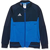 Adidas Tiro17 PES Y Chaqueta, niños, Azul/Blanco (Maruni), 164