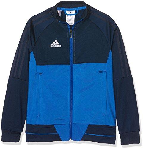 adidas Kinder Tiro 17 Jacke, Collegiate Navy/Blue/White, 164 (Jacke Blau Navy Adidas)