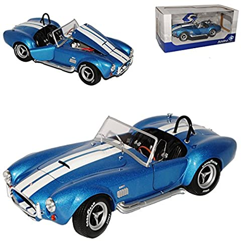 Ford Shelby AC Cobra 427 MKII S/C Blau 1962-1968 1/18