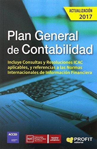 Plan general de contabilidad. Actualización 2017