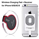 Drahtlose Qi Ladegerät Induktive Ladestation Qi Wireless Charger Charging Pad Dock Station + iPhone...