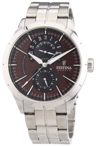 Festina Gents Watch XL Analogue Quartz Stainless Steel F16632 / 6