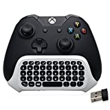BestFire 47 Tasten Wireless 2.4G Praktische Mini Handheld Keyboard Gaming Nachricht Gamepad Tastatur Wireless Chatpad mit Headset Audio Jack für XBOX ONE S Controller