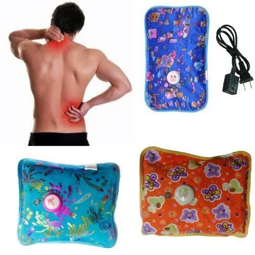 e-bazaar Heating Pad, Hot Water Bag For Pain Relief Massage - Multicolour