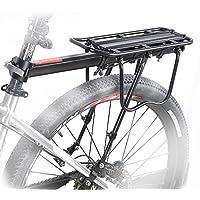 COMINGFIT® Portaequipajes Ajustables De Alta Resistencia De Aluminio De Bicicletas Que Tienen 50kg Capacidad De Llevar