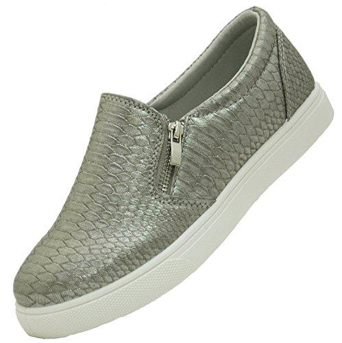 Salin Sapatos © Senhoras Tendência Da Moda Chinelo Em 6 Cores Cinza 2