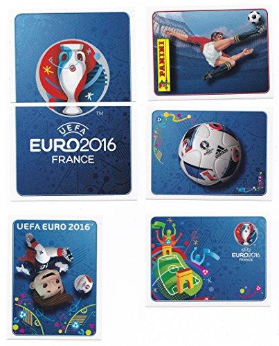 Panini EURO 2016 France - Sticker #1, #2, #3, #4, #7 & #8