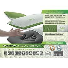 Living Sofa Almohada VISCOELASTICA GRAFENO Terapia Aloe Vera 150 (Todas Las Medidas)