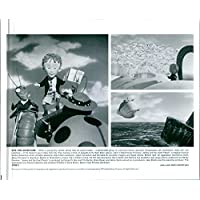 """Vintage photo of A different scenes from the film """"James and the Giant Peach"""""""