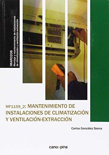 MF1159 Mantenimiento de instalaciones de climatización y ventilación-extracción por Carlos González Sierra