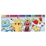 Pokemon POK1–1.524cm Pikachu/Froakie/Fennekin und Chespin Farbstift Kuchendosen-Set (50tlg.)