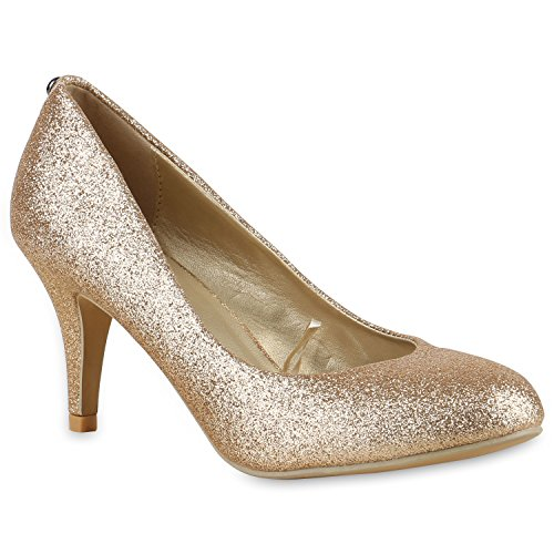 damen-schuhe-128335-pumps-gold-40